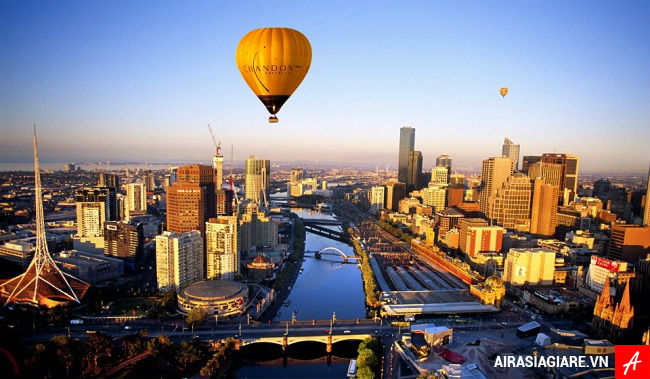 ve may bay di melbourne