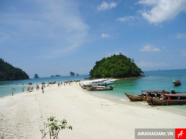 ve may bay di krabi gia re