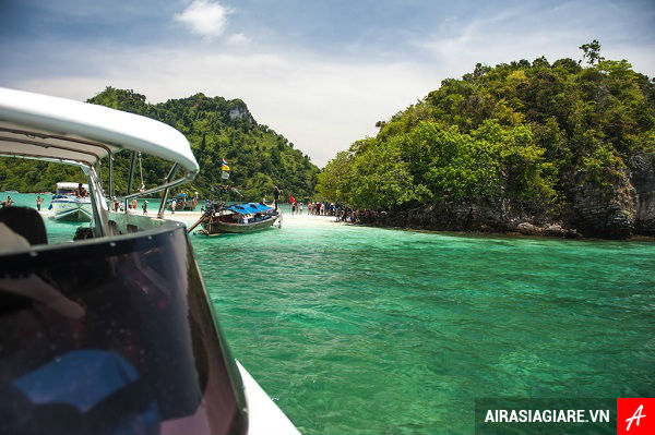 ve may bay di krabi