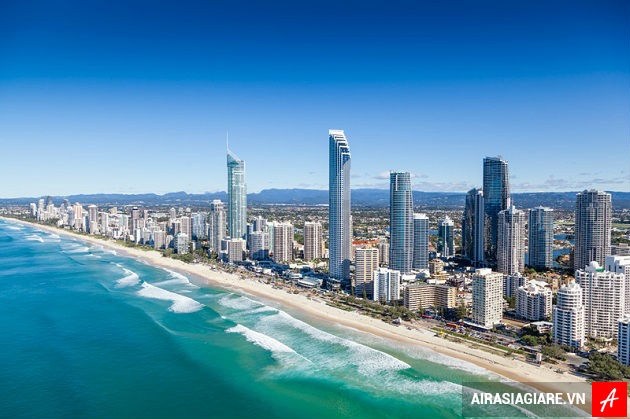 ve may bay di gold coast