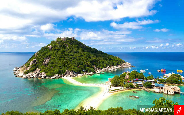 ve may bay di surat thani