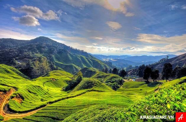ve may bay gia re airasia di malaysia