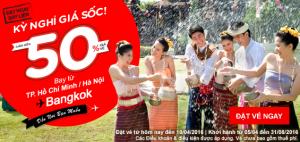 AirAsia giảm ngay 50% giá vé, hè vui bất tận!