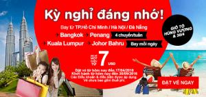 Tận hưởng kỳ nghỉ đáng nhớ cùng AirAsia!
