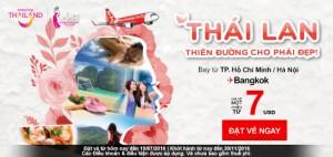 Khuyến mãi AirAsia chỉ từ 7 USD, mua ngay!