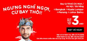 AirAsia mở bán vé 3 USD, Ngưng nghĩ ngợi, cứ bay thôi!