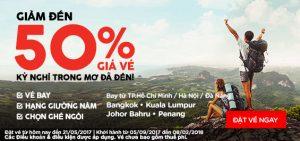 AirAsia giảm ngay 50% giá vé, hè vui vẫy gọi!