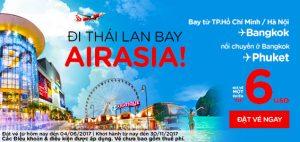 Rộn ràng vé rẻ chỉ từ 6 USD cùng AirAsia!