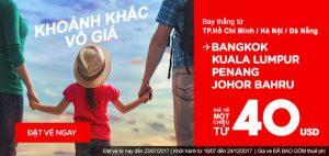 Bay AirAsia trải nghiệm khoảnh khắc vô giá