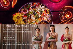 Tưng bừng mùa lễ hội với vé siêu rẻ AirAsia