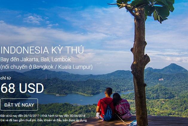 vé máy bay khuyến mãi airasia