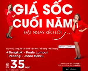 Thỏa sức bay khắp Đông Nam Á cùng AirAsia chỉ từ 35 USD