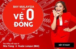 Bắt ngay vé 0 đồng từ AirAsia vi vu Malaysia xinh đẹp