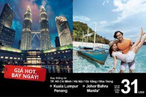 Nhanh tay bắt lấy giá hot, bay ngay kẻo lỡ cùng AirAsia