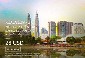 Book vé rẻ Air Asia đi Thái Lan và Malaysia từ 28 USD