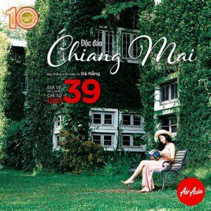 Air Asia mở đường bay thẳng Đà Nẵng đến Chiang Mai chỉ từ 39 USD