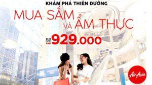 Air Asia khuyến mãi đến Thái Lan, Malaysia chỉ từ 929,000 VNĐ