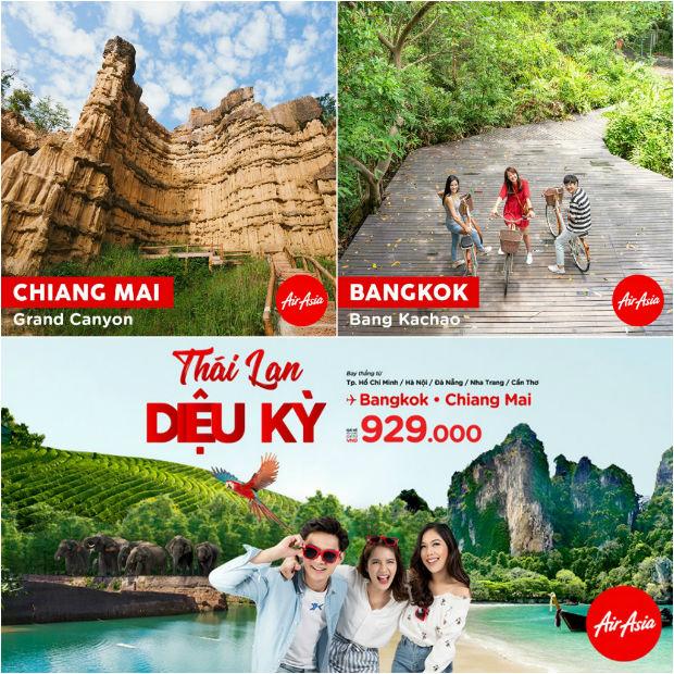 Các điểm du lịch lý thú ở Thái Lan